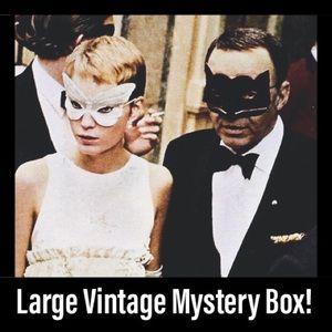 Large Vintage Mystery Box!